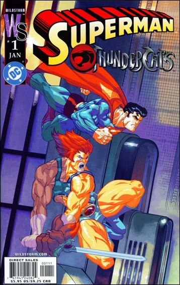 Superman/ThunderCats 1-A by WildStorm