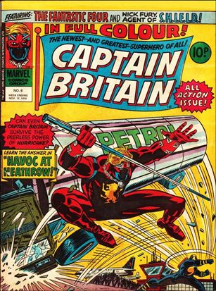 Captain Britain (UK) (1976) 6-A
