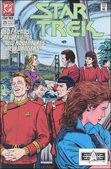 Star Trek (1989) 25-A by DC