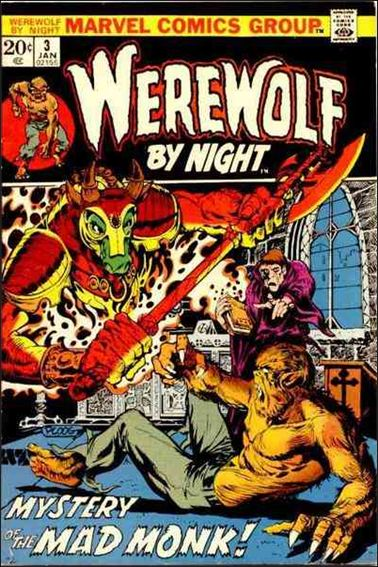 Werewolf by Night (1972) 3-A by Marvel
