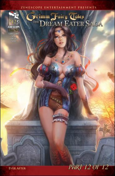 Grimm Fairy Tales: The Dream Eater Saga 12-B by Zenescope Entertainment