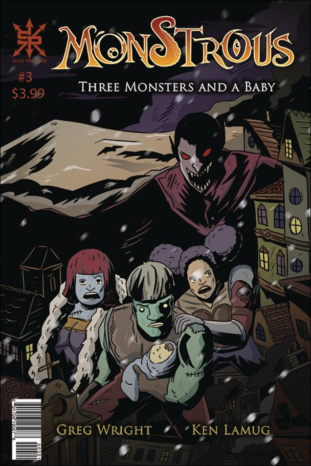 Monstrous (2018) 3-A by Source Point Press