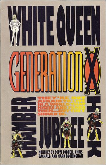 Generation X (1994) Preview-A by Marvel