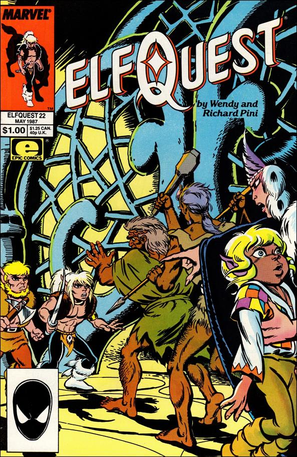 Elfquest (1985) 22-A by Epic