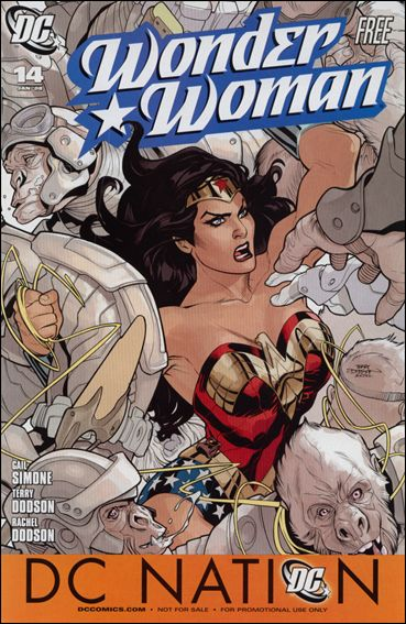 Wonder Woman (2006) 14-C by DC