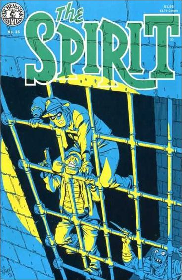Spirit (1983) 25-A by Kitchen Sink