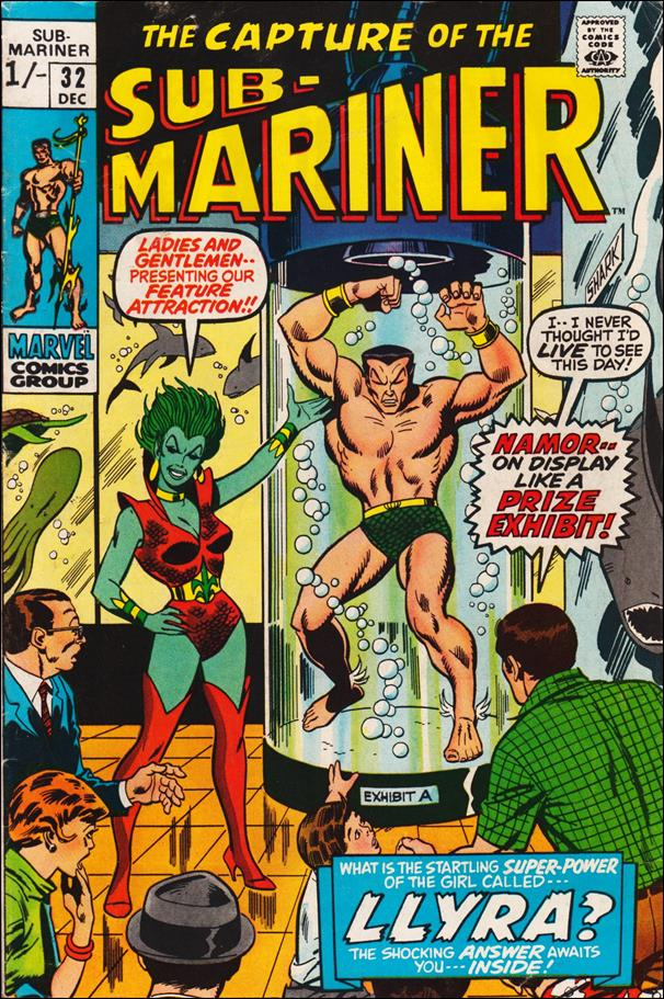 Sub-Mariner (1968) 32-B by Marvel