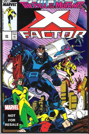 X-Factor (1986) 25-B by Marvel