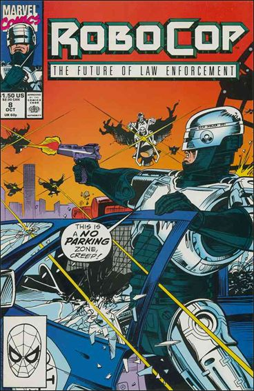 Robocop (1990) 8-A by Marvel
