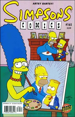 Simpsons Comics 165-A