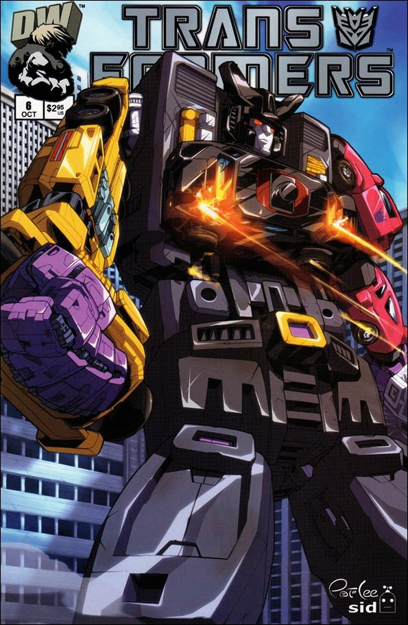 Transformers: Generation 1 (2002) 6-B by Dreamwave