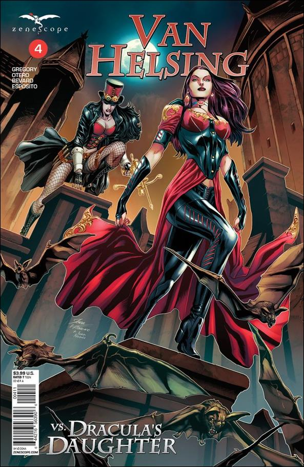 Van Helsing vs Dracula's Daughter 4-A by Zenescope Entertainment
