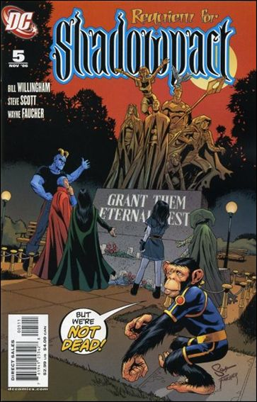 Shadowpact 5-A by DC