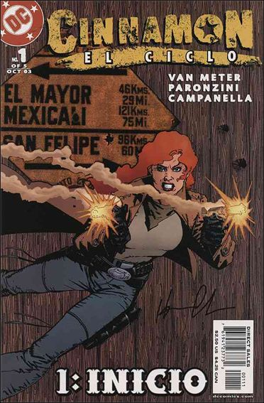 Cinnamon: El Ciclo 1-A by DC
