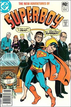 New Adventures of Superboy 8-A