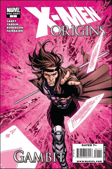 X-Men Origins: Gambit 1-A by Marvel