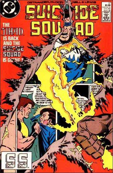 Suicide Squad (1987) 17-A by DC