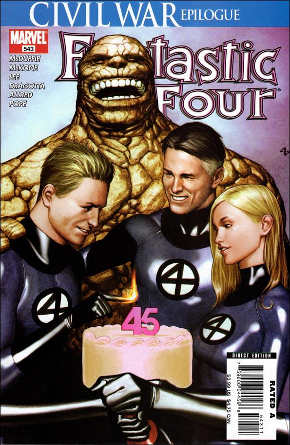Fantastic Four (1961) 543-A by Marvel