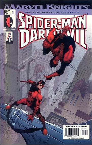 Spider-Man/Daredevil 1-A by Marvel