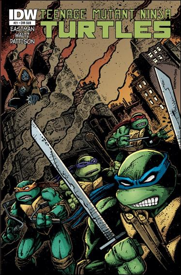 Teenage Mutant Ninja Turtles (2011) 21-C by IDW