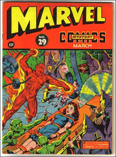 Marvel Mystery Comics (1939) 29-A by Timely