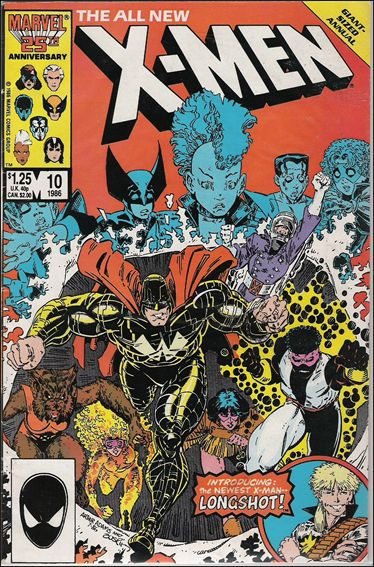 Uncanny X-Men Annual 10-A by Marvel