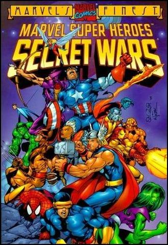 Secret Wars 1-C by Marvel