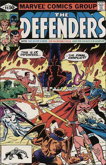 Defenders (1972) 99-A by Marvel