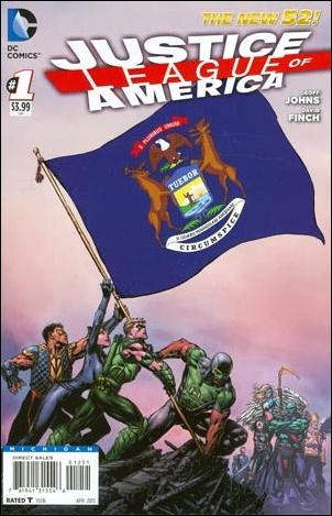 Justice League of America (2013)  1-MW by DC