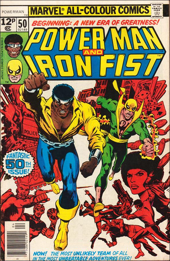 Power Man and Iron Fist (1978) 50-B by Marvel