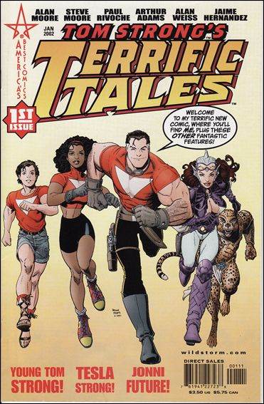 Tom Strong's Terrific Tales 1-A by America's Best Comics