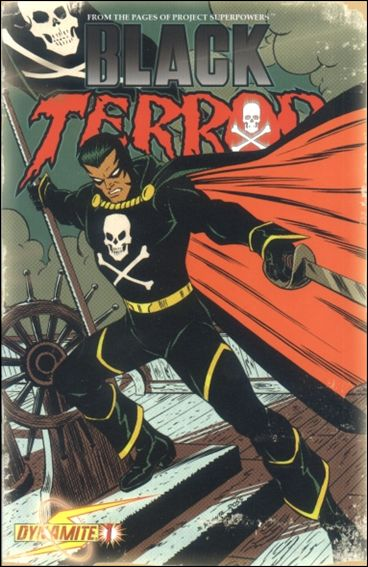 Black Terror (2008) 1-C by Dynamite Entertainment