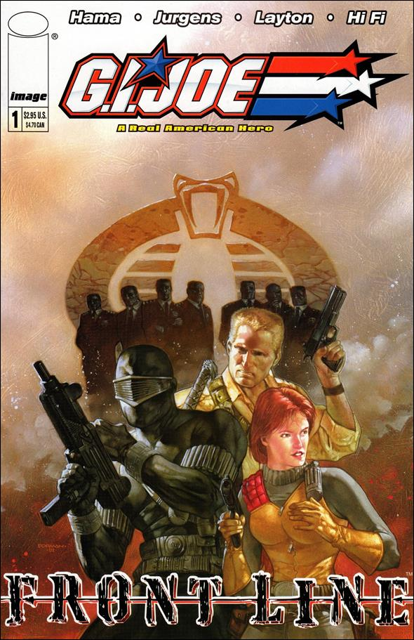 G.I. Joe: Frontline 1-A by Image