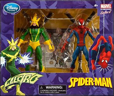 Marvel Select (Box Sets) Spider-Man vs Electro 2-Pack
