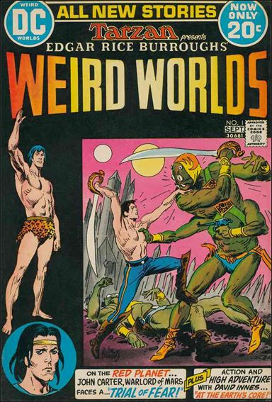 Weird Worlds (1972) 1-A by DC