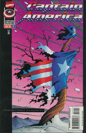 Captain America (1968) 451-A by Marvel