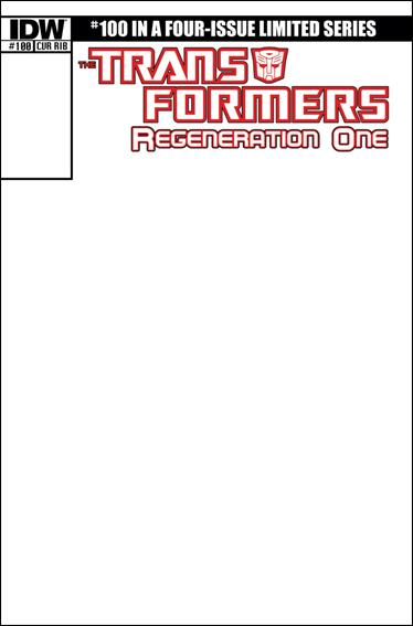Transformers: Regeneration One 100-E by IDW