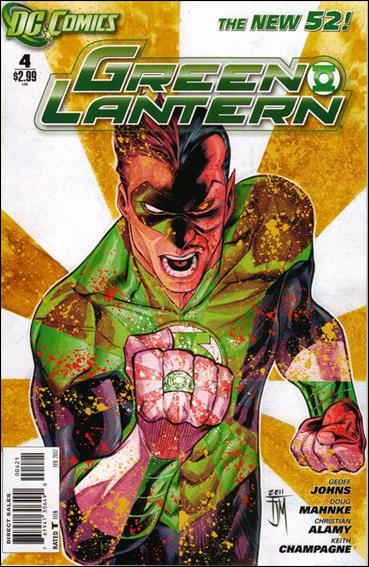 Green Lantern (2011) 4-B by DC