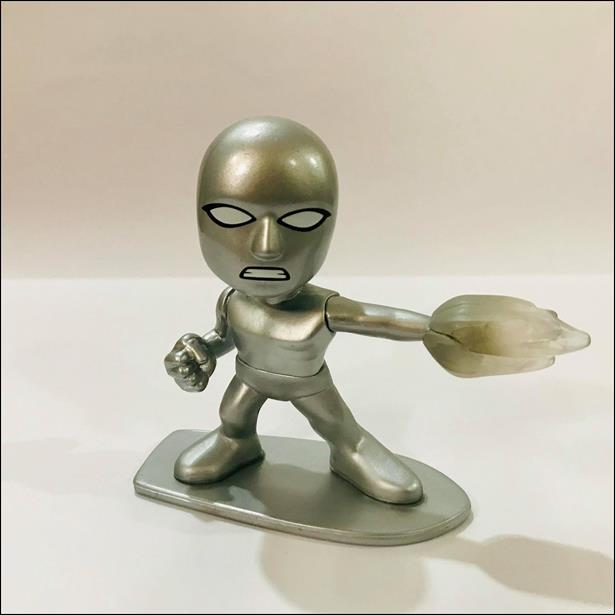 Fantastic Four Mystery Minis Silver Surfer  (Gamestop Exclusive) by Funko