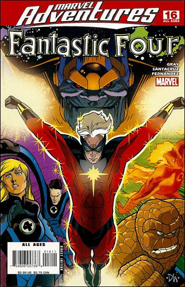 Marvel Adventures Fantastic Four 16-A by Marvel