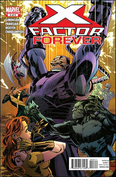 X-Factor Forever 3-A by Marvel