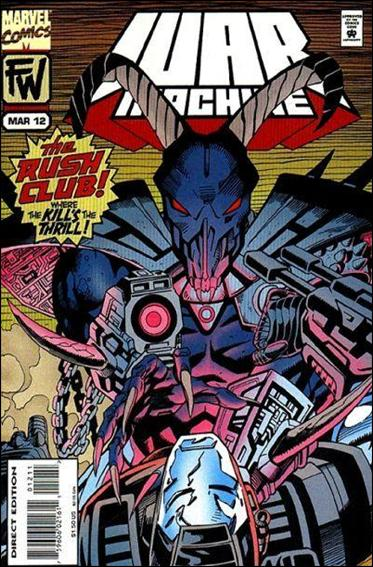 War Machine (1994) 12-A by Marvel