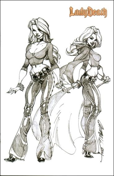 Lady Death: The Gauntlet 2-B by Chaos