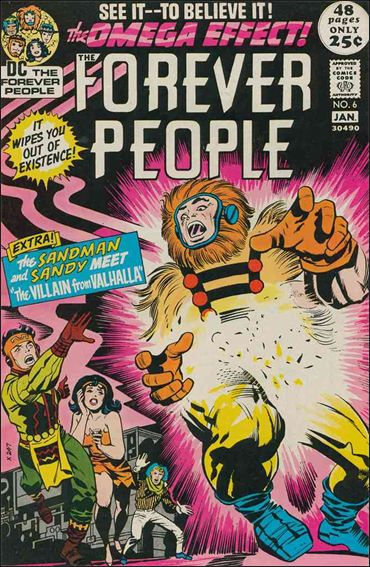 Forever People (1971) 6-A by DC