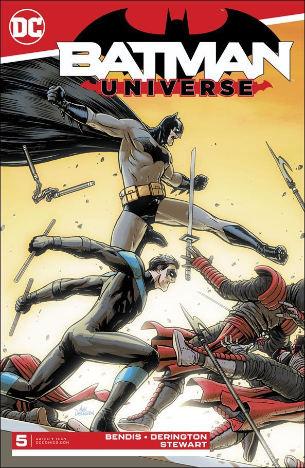 Batman Universe 5-A by DC