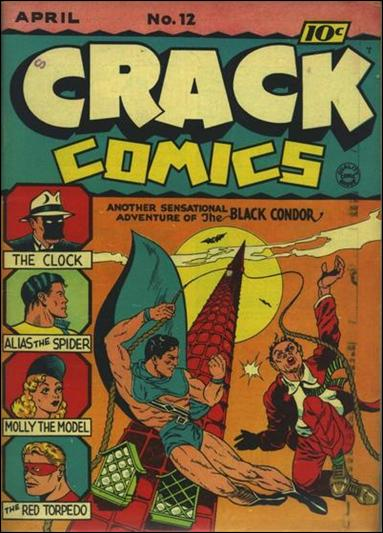 Crack Comics 12-A by Quality