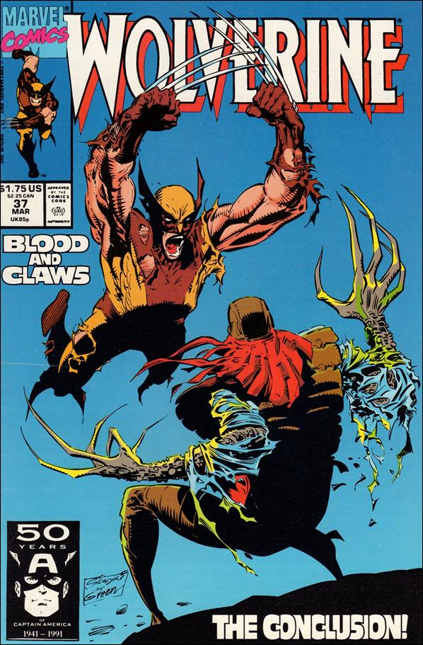 Wolverine (1988)  37-A by Marvel
