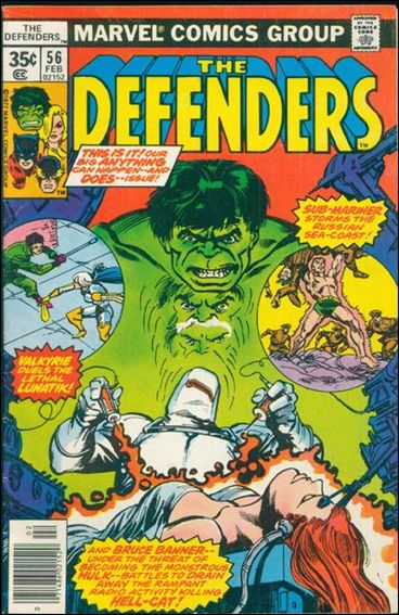 Defenders (1972) 56-A by Marvel