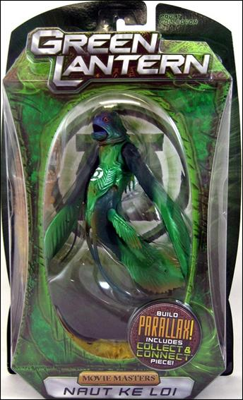 Green Lantern: Movie Masters Naut Kei Loi by Mattel