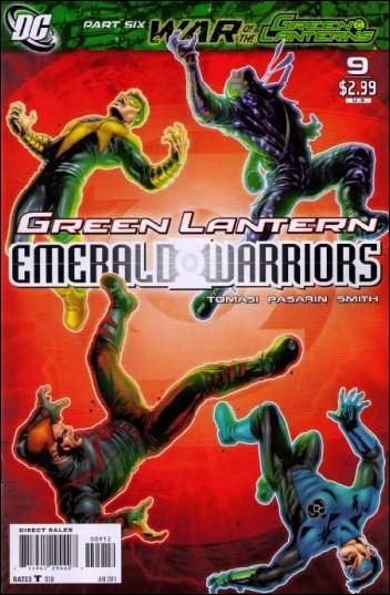 Green Lantern: Emerald Warriors 9-C by DC
